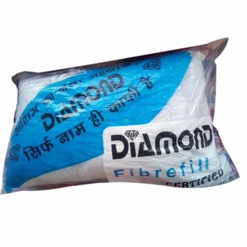 White Diamond Pillow Rs 100 Piece Mattress Hub Id 16408338488