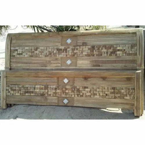Brown King Size High Back Teak Wood Headboard Rs 8000 Unit Royal Furniture Id 21576283130