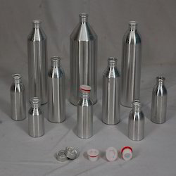 Threaded Aluminium Bottle