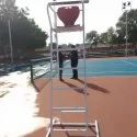 Lawn Tennis Umpire Chair Movable & Fixed Type