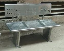 Airport Bench with Back Support