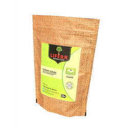 Liferr Stevia Leaves Powder 500 Grams, Packaging Type: Pouches