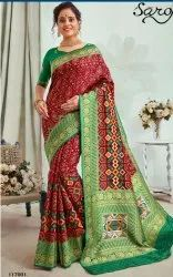 Designer fancy Patola silk saree