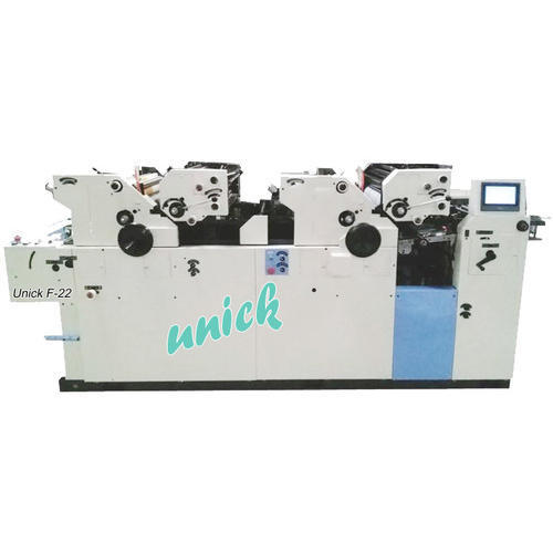 Stainless Steel Multi Colour Non Woven Bag Printing Machine