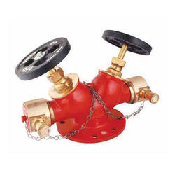 Double Outlet Hydrant Landing Valves