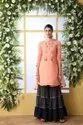 Multicolor Tripta - Cotton Embroidery Unstitched Suit Set