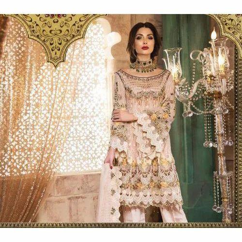 cedd014836 Medium And Large Georgette Trendy Pakistani Suit, Rs 600 /piece | ID ...