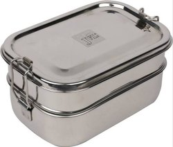 Stainless Steel Rectangular Lunch Box