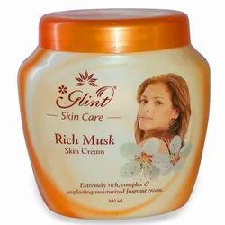 Glint Rich Musk Skin Cream, for Parlour