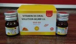 Oso D3 Nano Shot (Vitamin D3 Oral Solution 60,000 I.U)
