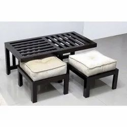 Goodluck Black Coffee Table Set