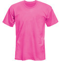 Mens Pink Promotional Polyester T Shirt