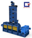 Automatic Tripal Stage Reduction Gear Box Triple Chamber Oil Expeller, Capacity: 60-100 Ton/day