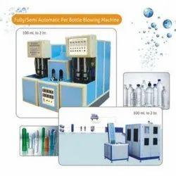 Fully & Semi Automatic Pet Bottle Blowing Machine