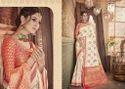 Silk Embroidered Wedding Wear Saree