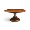 Wooden Cake Stand, Shape: Round