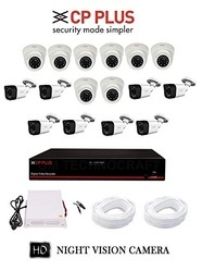 CP Plus 16 Ch CCTV Camera Set Up