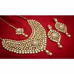 b9bb4912c0442 Multi Jadtar Bikaneri Necklace Set at Rs 25500 /piece(s ...
