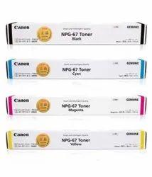 Canon NPG 67 Toner Cartridges Full Set
