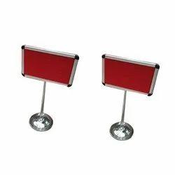 S.S. Single Pole Display Board