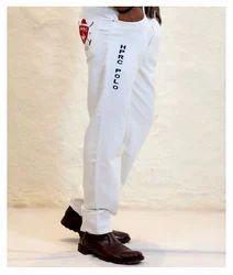 White HPRC Breeches