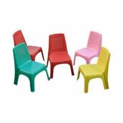 Plastic Molded Playschool Chair