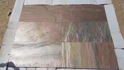 Toshibba Impex Copper Slate Stone, Size: 30X30 Mm