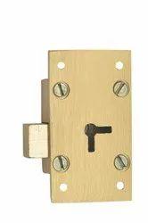 Harrison Iron Furniture Brass Lock, Stainless Steel