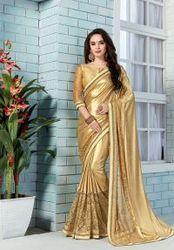 Golden Colored Saree