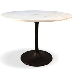 Juggernaut India Classic Design Marble Top Standing Dinning Table