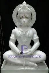Marble Handicraft Hanuman Statue