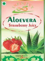 Aloevera Juice (Strawberry) Flavor