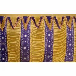 Silk Embroidered Wedding Curtain for Wedding Decoration