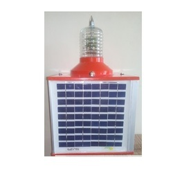Solar Aviation Warning Light
