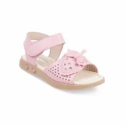 Girls Pink Party Wear Sandal