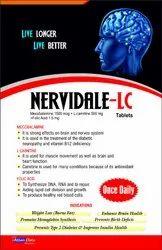 Melcobalamine 1500 Mcg   L-Carnitine 500 Mg  Folic Acid 1.5 Mg