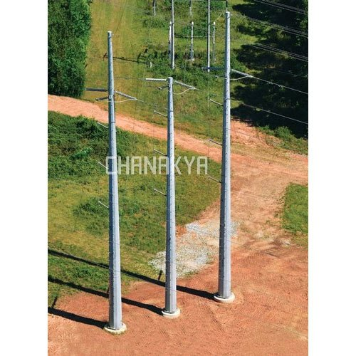 Transmission Mono Pole Tower