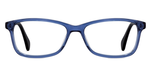 1a3be174798 Blue Transparent Black Full Rim Cat Eye Medium Eyeglasses at Rs 1000 ...