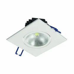 Aluminum LED Spotlight, Shape: Square