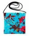 Printed Velvet Bag