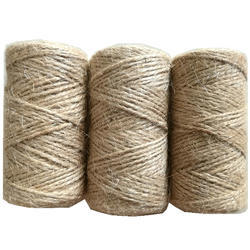 Brown Jute Hemp Spun Yarn for Handicraft