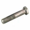 Polished Mild Steel Threaded Bolt, Size: M8-m64