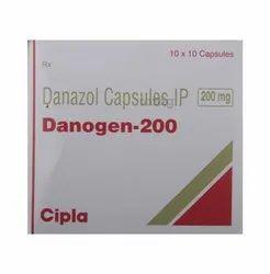 Danazol 200- Danogen-200 Capsules