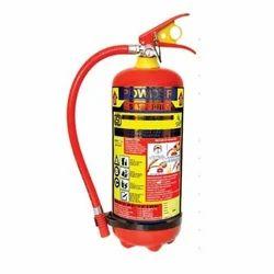 Mild Steel A B C Dry Powder Type ABC Fire Extinguisher, Capacity: 4 kg