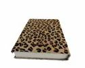 Leopard Print Designer Leather Journal