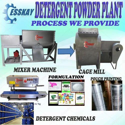 Detergent Formulation Consulting - Detergent Powder