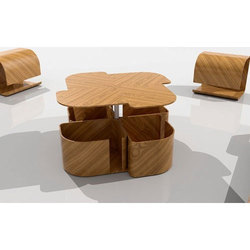 Brown Modular Furniture