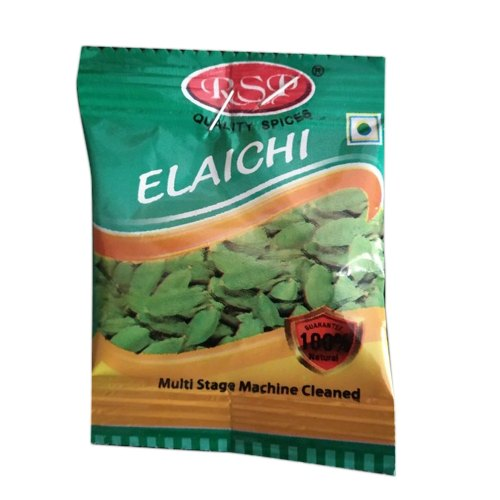 Machine Cleaned Green Cardamom, Packaging Size: 32 Pieces, Cardamom Size Available: 6-8 mm