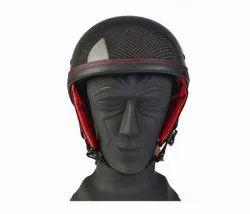 Black Unisex NOVELTY CARBO EASY CARBON FIBER HELMET, For BIKE, CYCLE RIDING