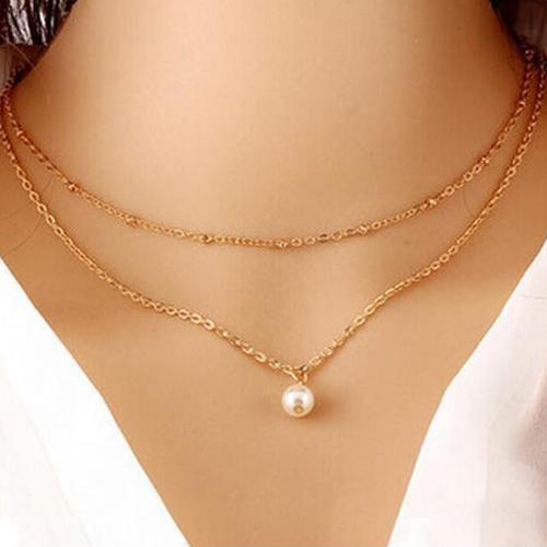 2 layer chain necklace at rs 80 piece wakad pune id 13812576262